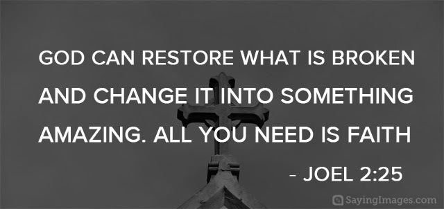 God Can Restore What Is Christian Quotes