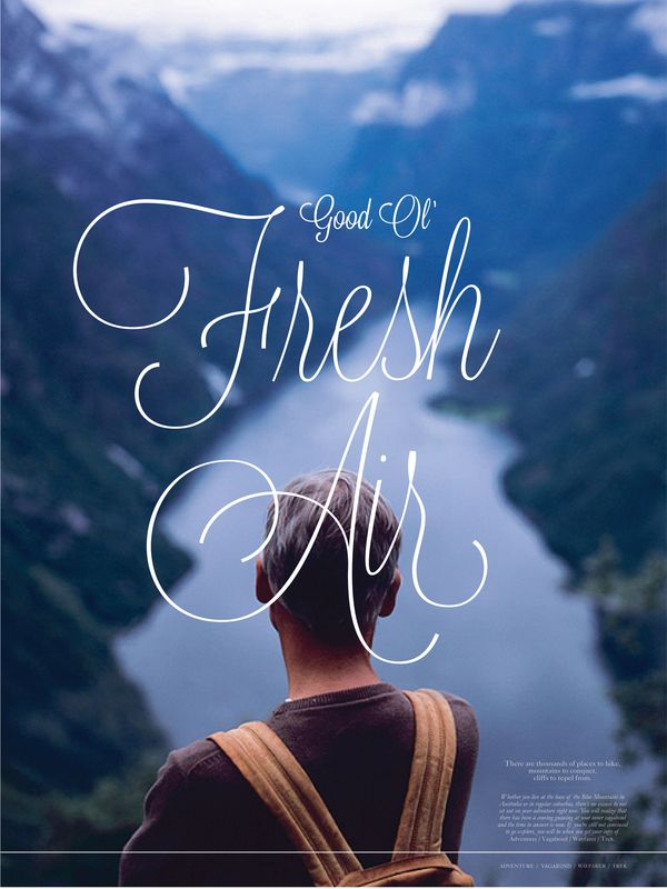 Good a fresh Air Nature and Earth Quotes