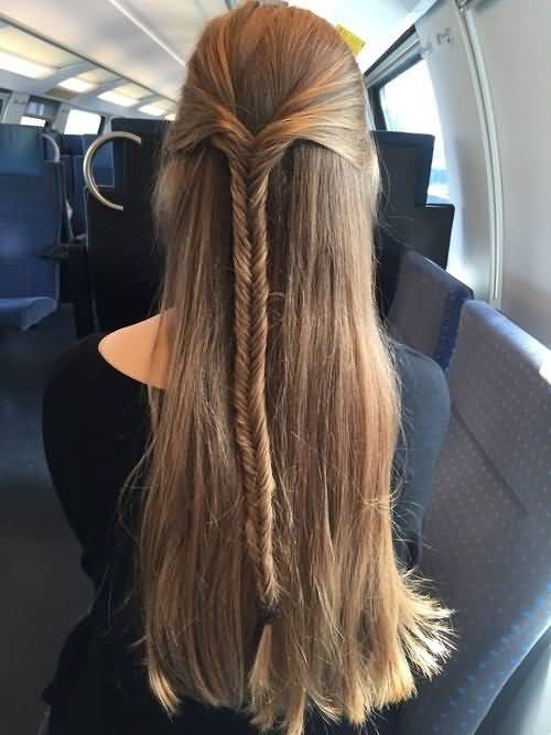 Gorgeous large hair Braid Hairstyle