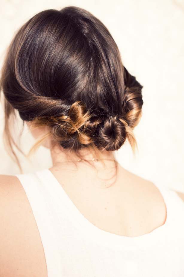 Gorgeous sides Bun Hairstyle