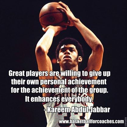 Great Players Are Willing Basketball Quotes