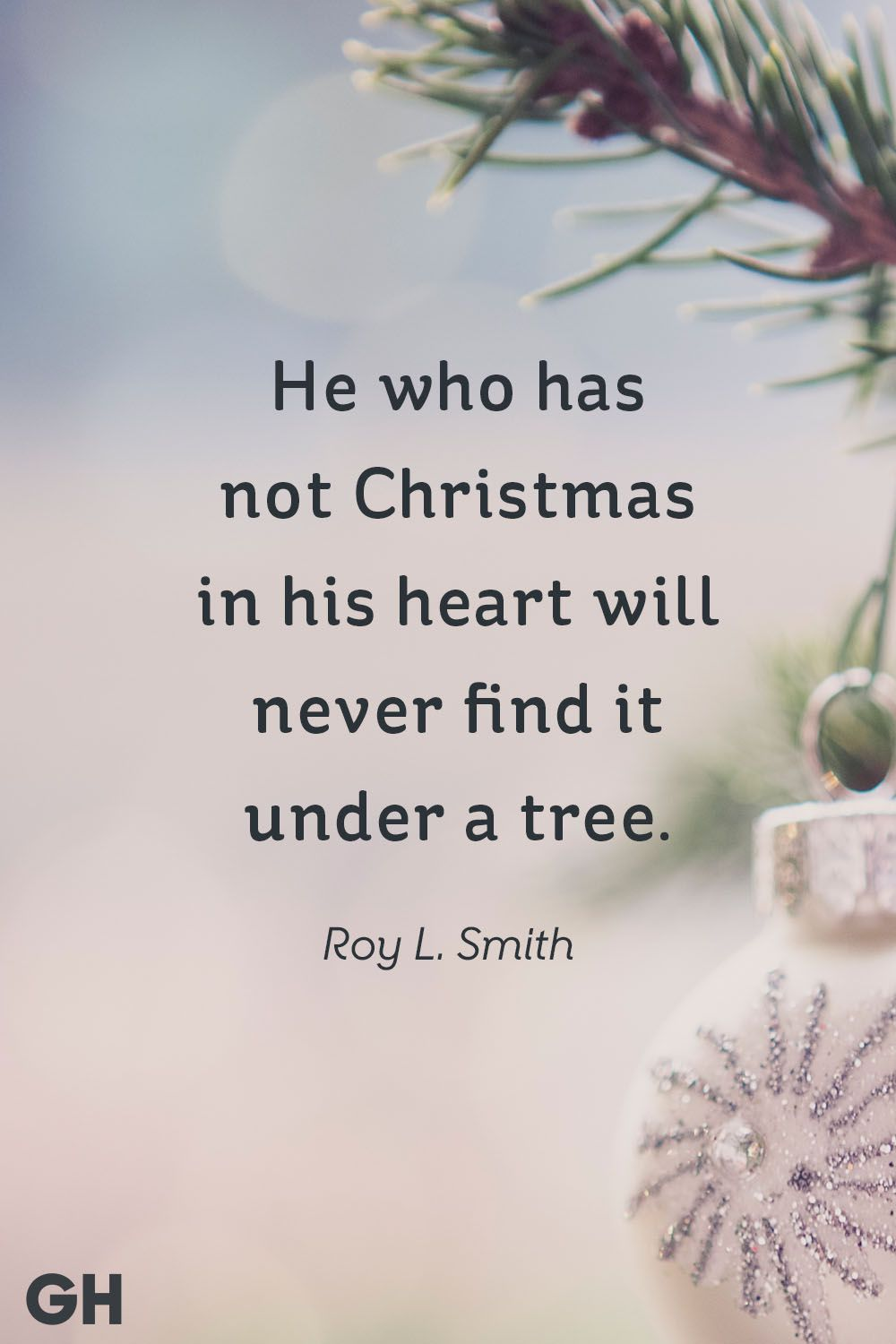 He Who Has Not Christmas Quotes