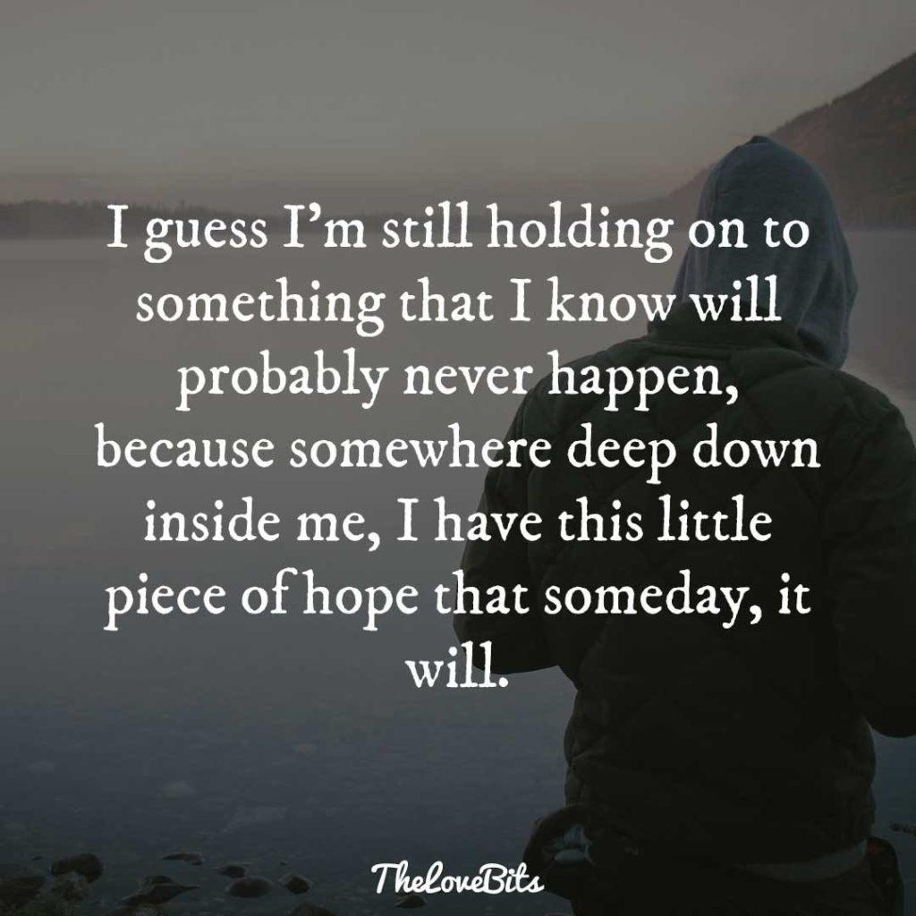 I Guess I'm Still Broken Heart Quotes