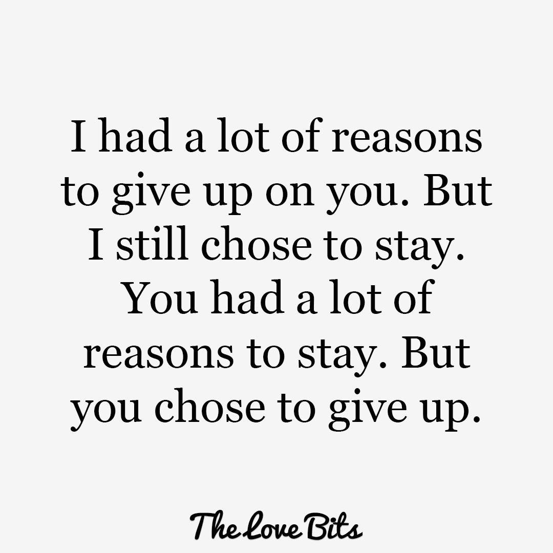 I Had A Lot Of Break Up Quotes