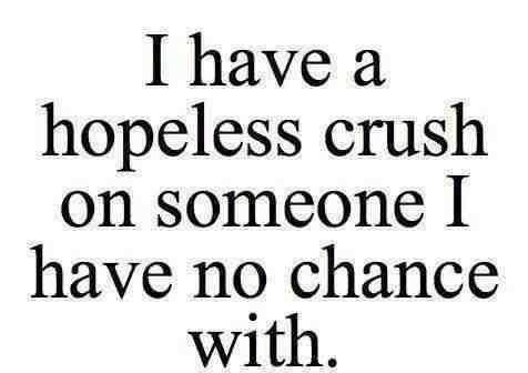 I Have A Hopeless Crush Quotes