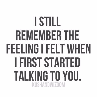 I Still Remember The Feeling Crush Quotes