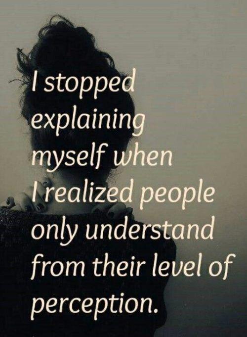 I Stopped Explaining Myself Change Quotes