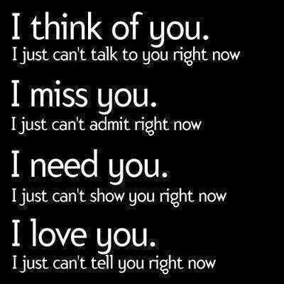 I Think Of You Break Up Quotes