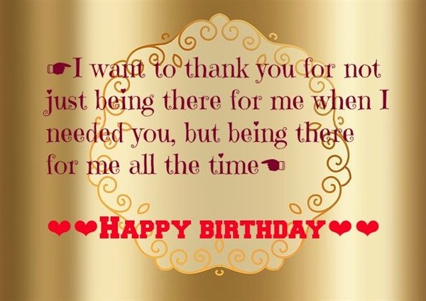 I Want To Think You Best Friend Birthday Quotes