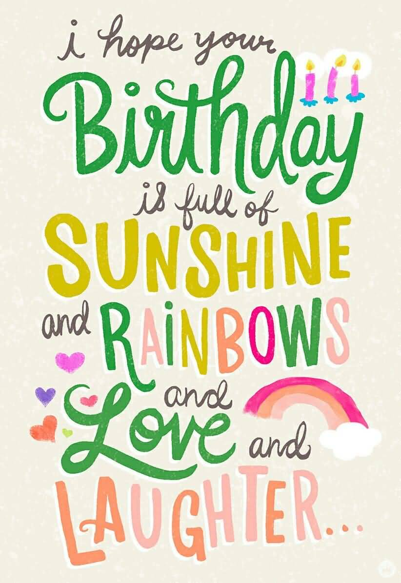 I hope Your Birthday Birthday Quotes
