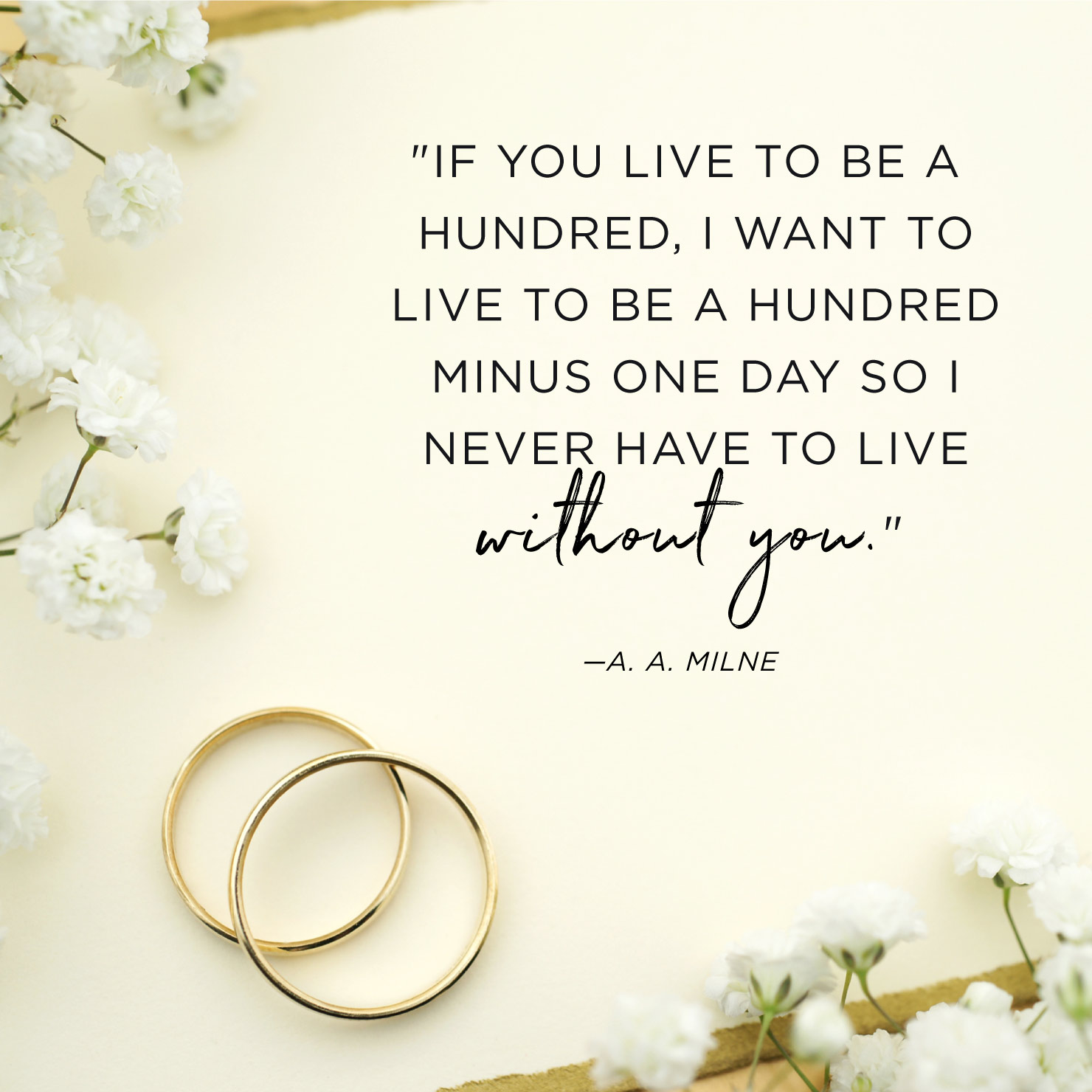 If You Live To Be Anniversary Quotes
