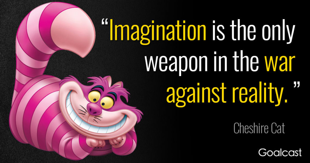 Imagination Is The Only Alice In Wonderland Quotes