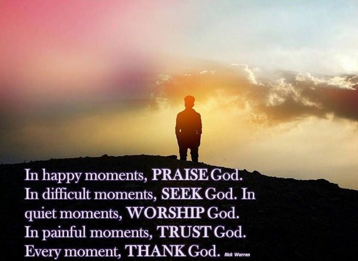 In Happy Moments Praise Beautiful Quotes