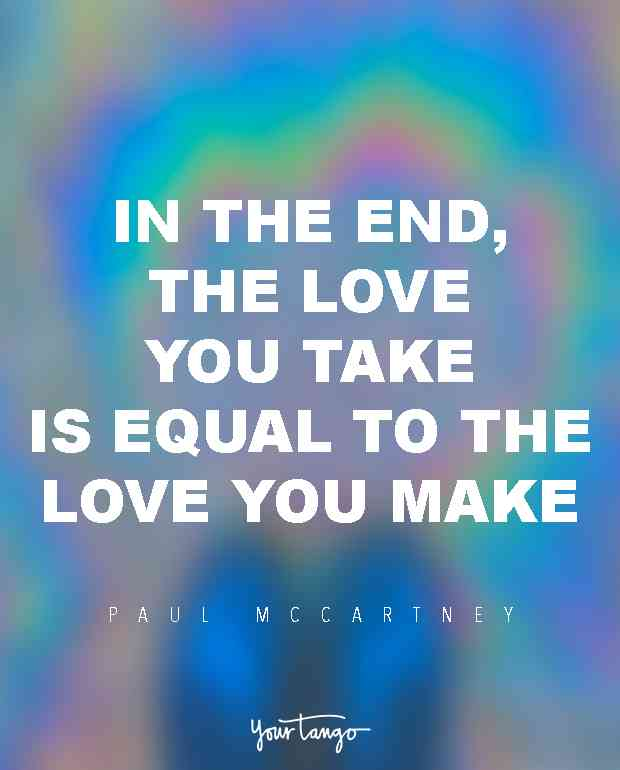 In The End The Cute Quotes