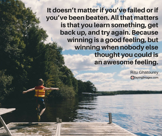 It Doesn't Matter It You've Awesome Quotes