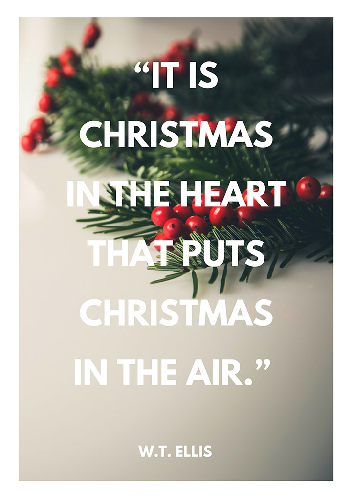 It Is Christmas In The Heart Christmas Quotes