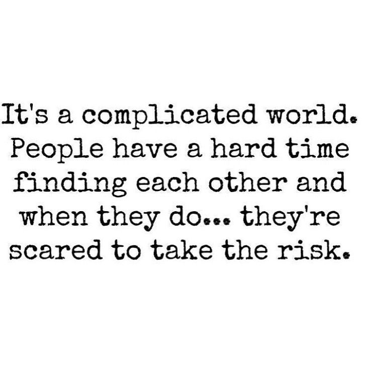 It's A Complicated World Confused Quotes