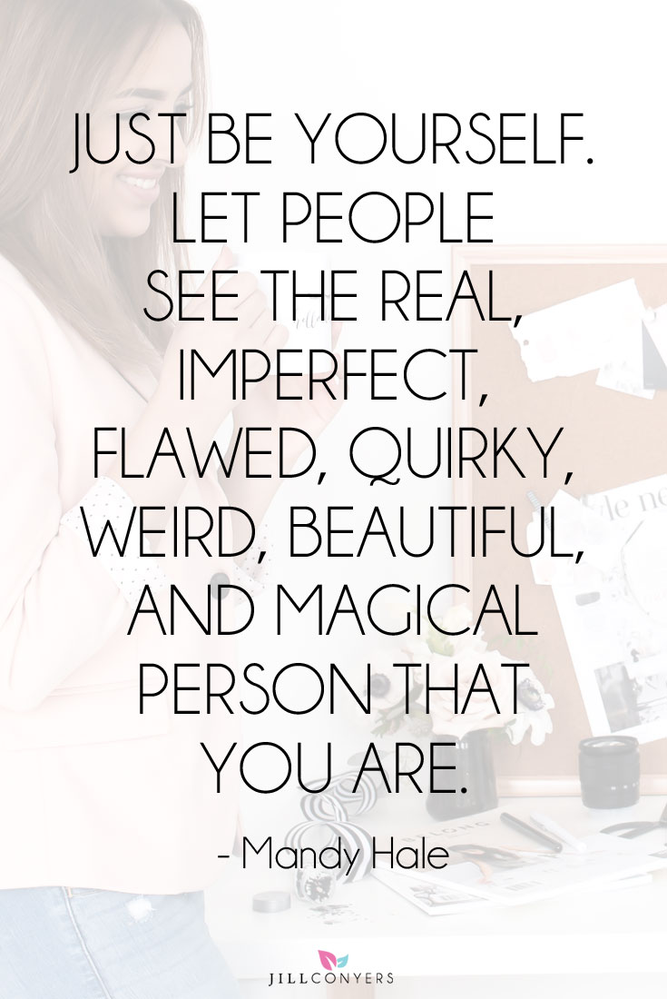 Just Be Yourself Let Confidence Quotes