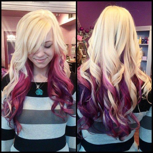 Latest fashion for long two tone Layer Hairstyle