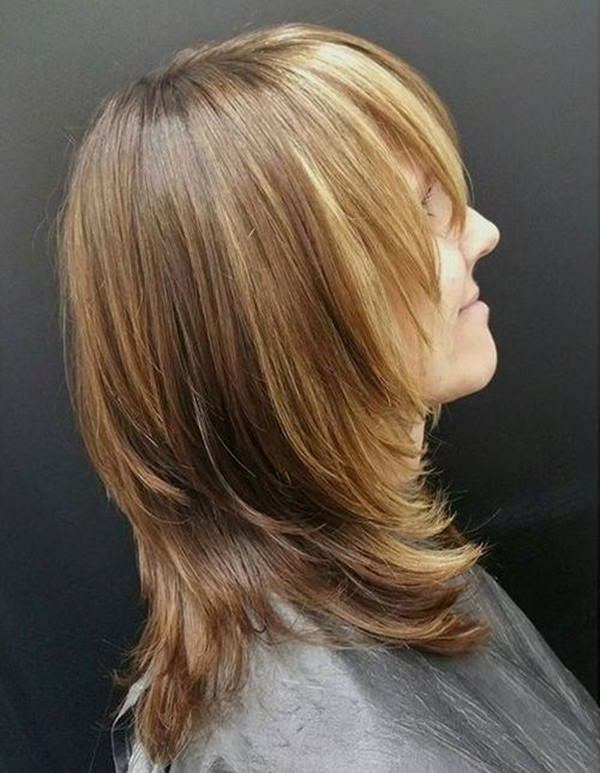 Latest women short Layer Hairstyle
