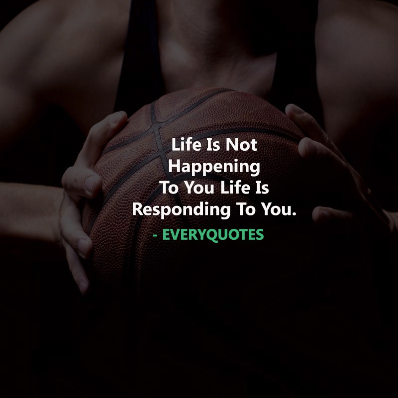 Life Is Not Happening Attitude Quotes