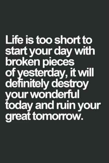 Life Is Too Short Breakup Quotes