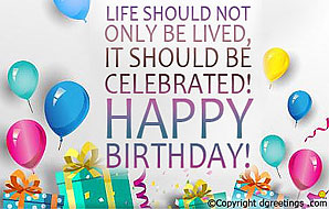Life Should Not Only Be Birthday Quotes