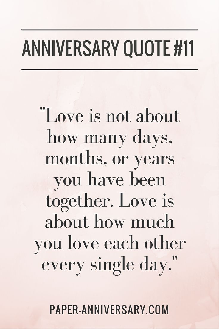 Love Is Not About Anniversary Quotes