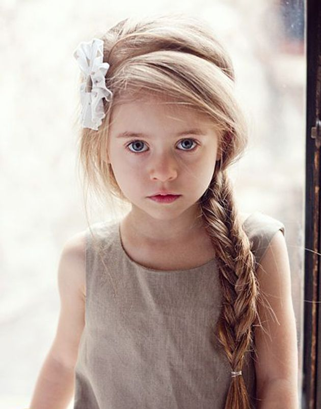 Lovely braid style Kids Hairstyle