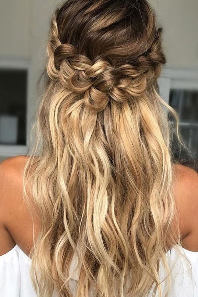 Lovely style for wedding Layer Hairstyle