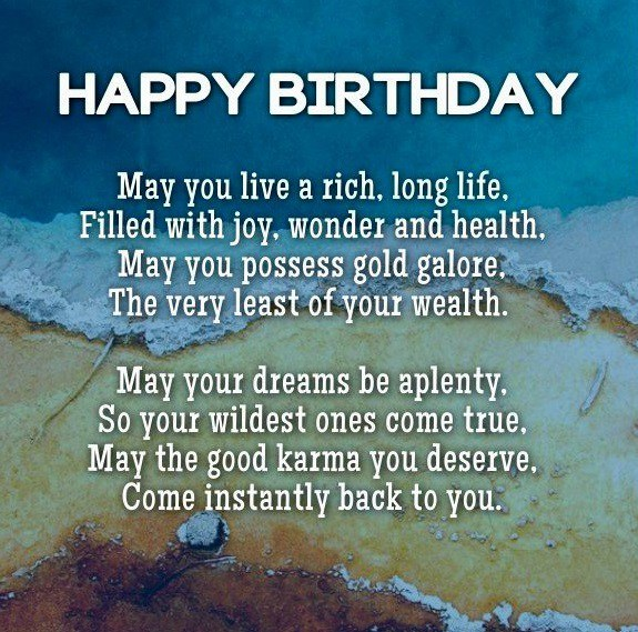 May You Live A Rich Best Friend Birthday Quotes