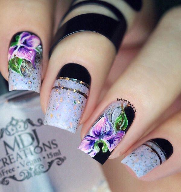 Mind blowing paint Classy nail art