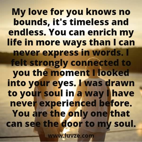 My Love For You Boyfriend Quotes