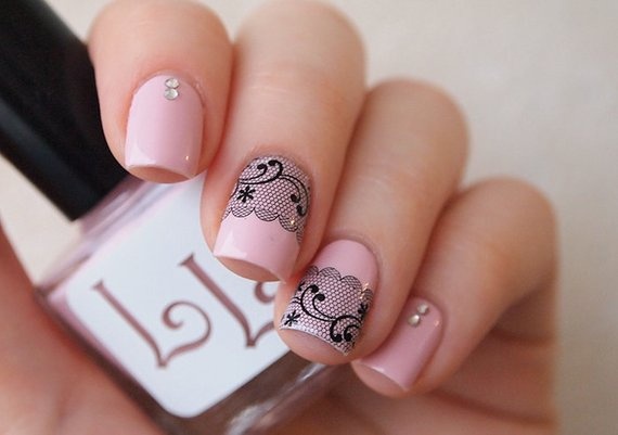 New and simple nature Animal print nail art