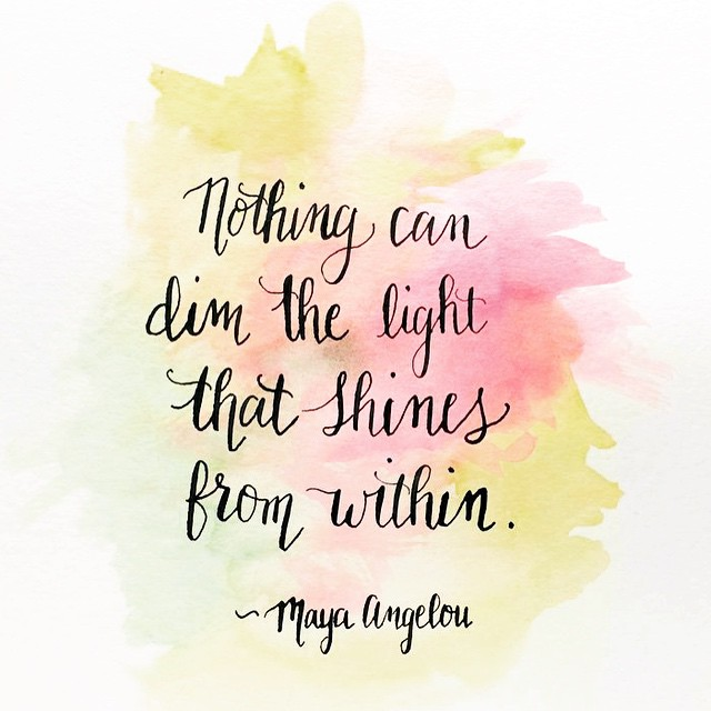 Nothing Can Dim The Confidence Quotes