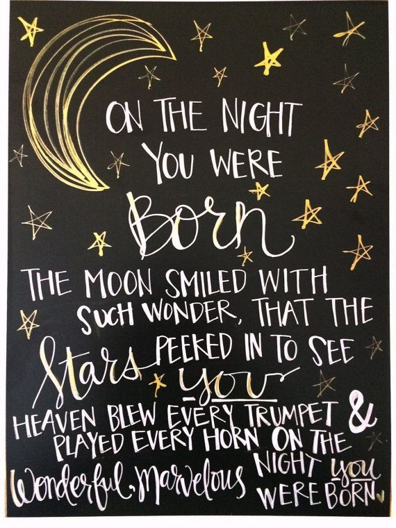 On The Night You Birthday Quotes
