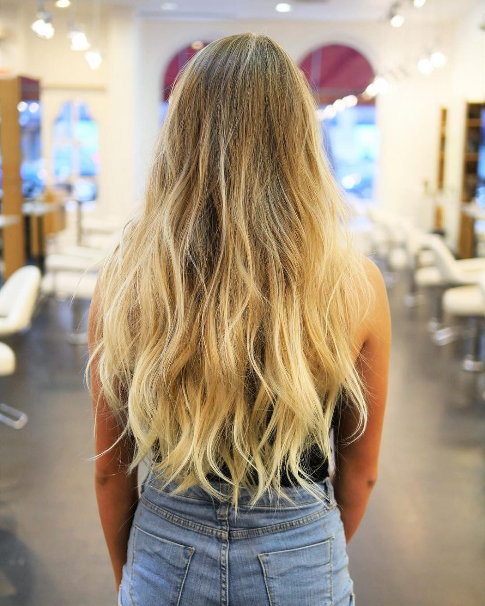 Original long style for look girlish Layer Hairstyle
