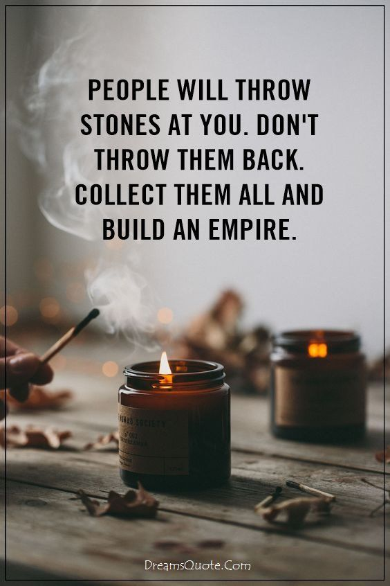 People Will Throw Stones Attitude Quotes
