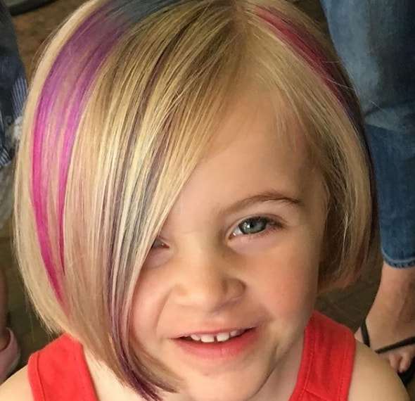 Perfect look two tone style Kids Hairstyle