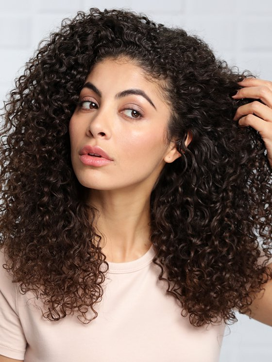 Perfect style for girls Curly Hairstyle