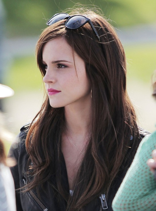 Pretty Emma style for girls Layer Hairstyle