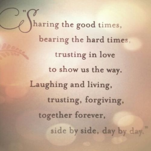 Sharing The Good Times Anniversary Quotes