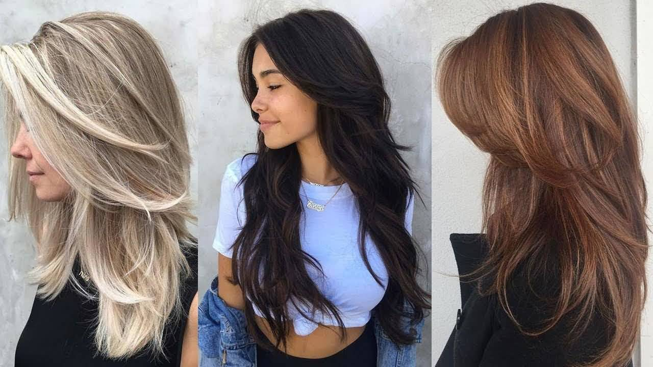 Simple styles for girls Layer Hairstyle