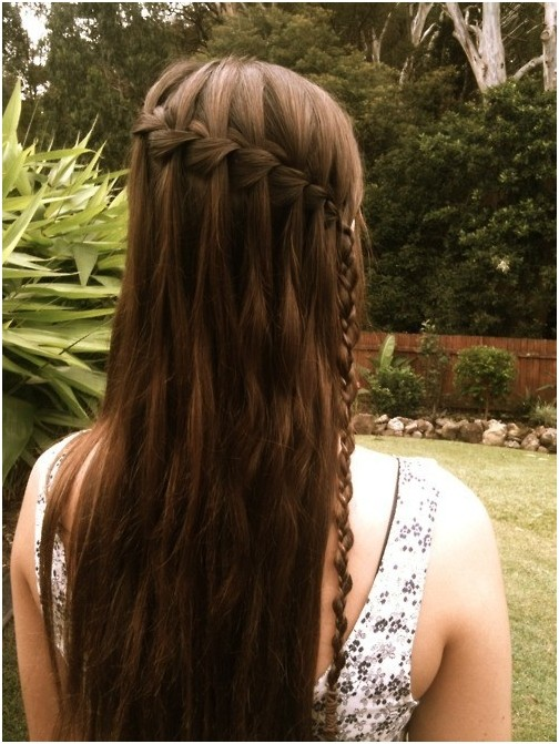 Simple to make Braid Hairstyle