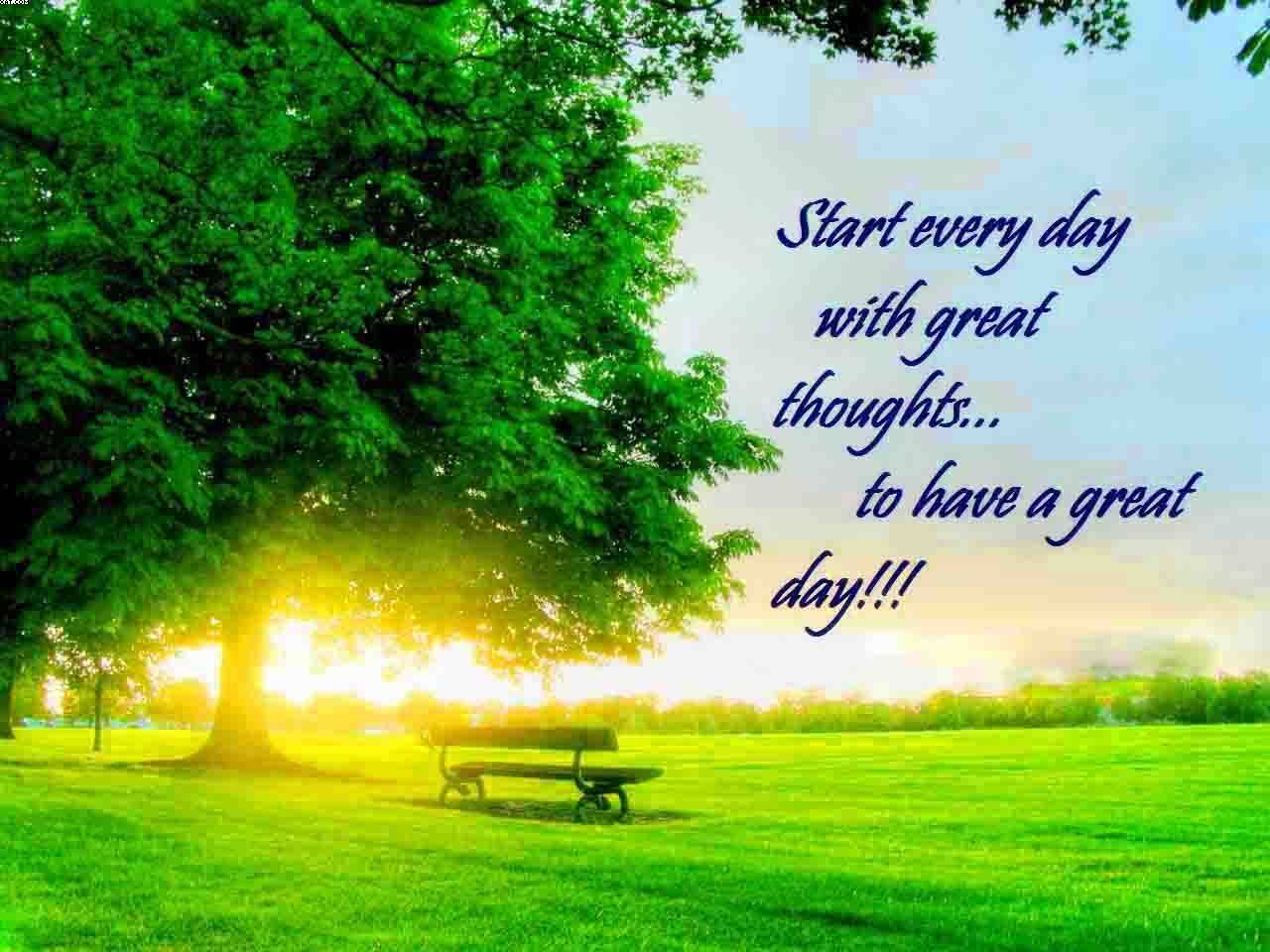 Start every day with Nature and Earth Quotes