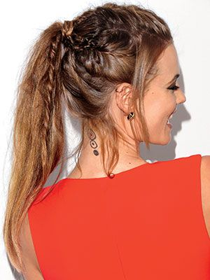 Stunning girlish ponytail Braid Hairstyle