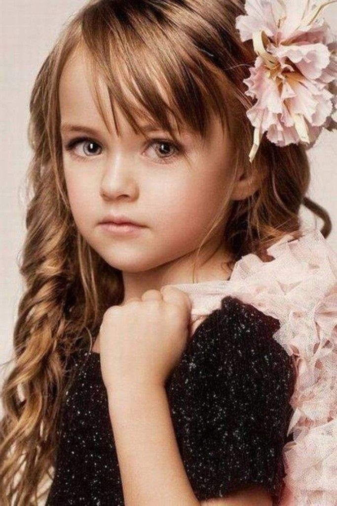 Stunning long layer style Kids Hairstyle