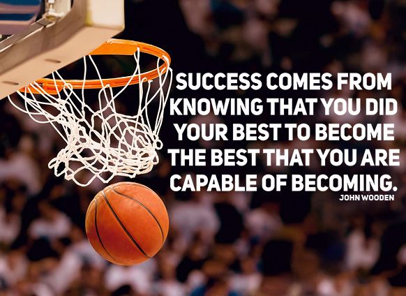 Success Comes From Knowing Basketball Quotes