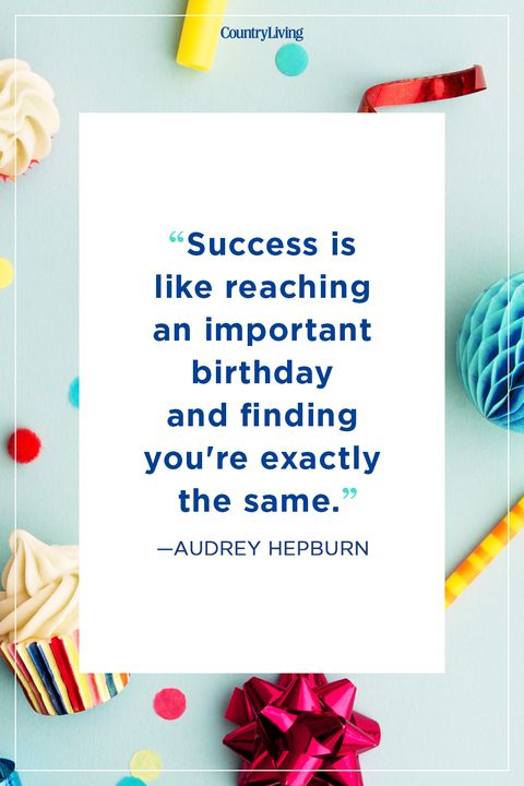 Success Is Like Reaching Birthday Quotes