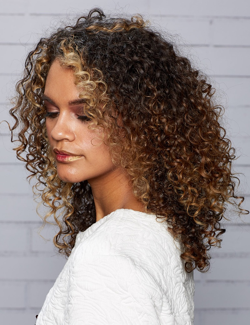 Superb style anytime Curly Hairstyle